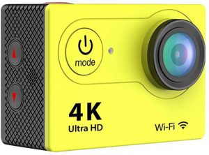 smartwatchtrends-at601-action-camera-16mp-4k-wifi-waterdicht-sportcamera-170-graden-ultra-wideangle-lens-met-extra-accessoire-kits-geel